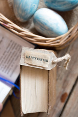 eggs and easter card
