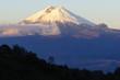 Leinwanddruck Bild - Cotopaxi volcano, Ecuador