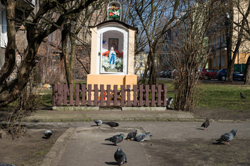 Little chapel in Warsaw's Praga