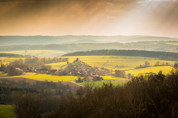 Small Village in the Franconian Forest