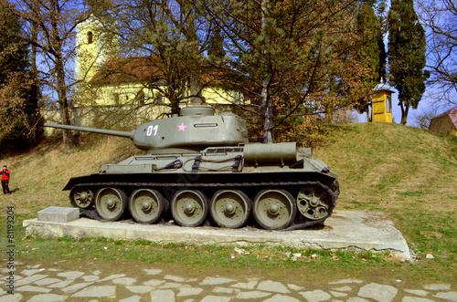 Poster czołg