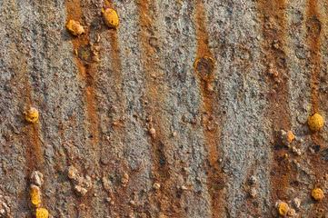 abstract rusty metal background