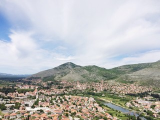 View of the city Trebinje, Bosnia and Herzegovina