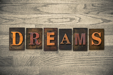 Dreams Wooden Letterpress Theme