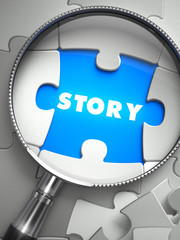 Story through Lens on Missing Puzzle.