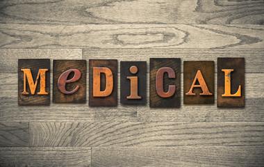 Medical Wooden Letterpress Theme