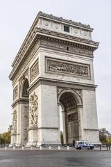 Arc de Triomphe de l'Etoile on Charles de Gaulle Place, Paris
