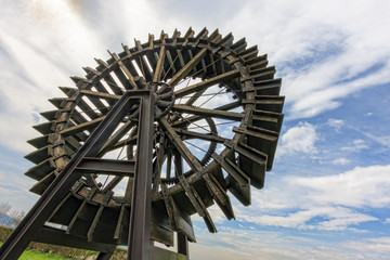 Ancient water wheel