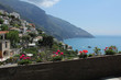 Positano wall with flowers. - 81196627