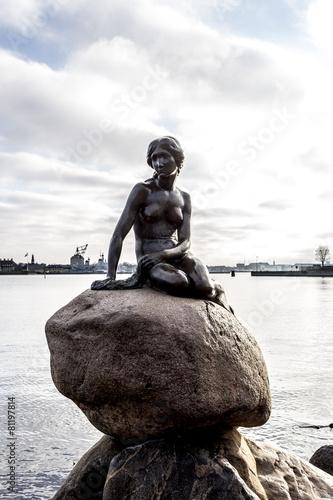 Póster Statua della Sirenetta - Copenhague