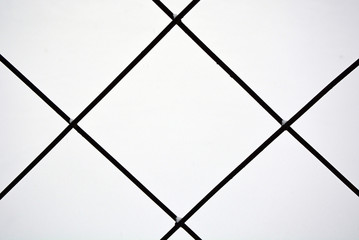Metal grid. Picture can be used as a background