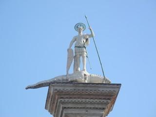 soldado en columna,venecia