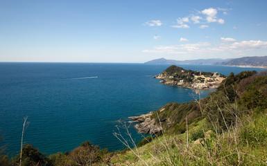 seascape from Punta manara, liguria