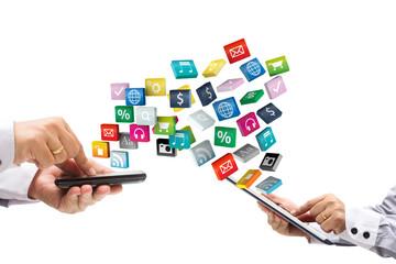 compartiando aplicaciones