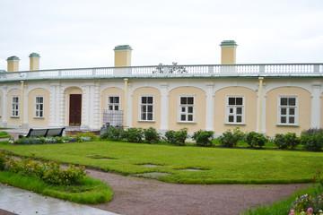 Outbuilding of Big Menshikovsky palace in Oranienbaum.