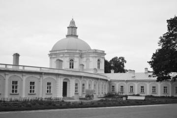 Big Menshikovsky palace in Oranienbaum.