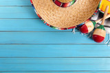 Mexican background with copyspace - 81201468
