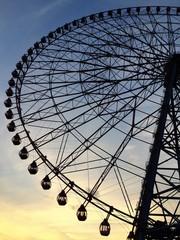 Ferriswheel in Tokyo