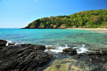 Beautiful Bay on the Island