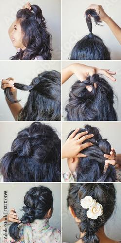 braid tutorial by beauty blogger © Mila Supynska