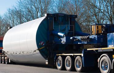 Schwertransport Windkraftanlage