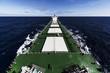 Cargo ship underway - 81210800