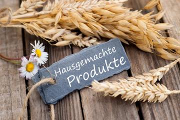 Hausgemachte Produkte