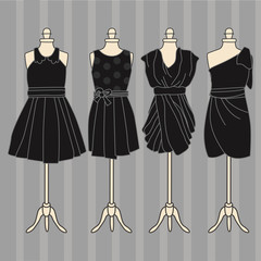 Elegant Little Black Dress Fashion