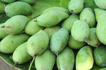 Fresh mango fruit in the market