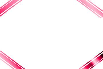 pinkfarbener Rahmen...