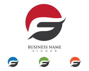 F Logo Template 1
