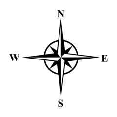 Vector compasses icon. Wind rose, EPS 10