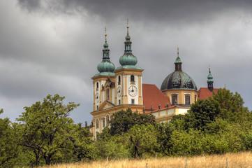 Basilica Minor in Olomouc city