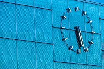 Uhr auf einem Gebäude