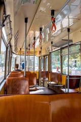 Fahrgast in einem Bus
