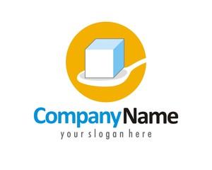 sugar spoon logo image vector