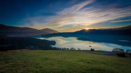 Sunrise in The Lake District, Cumbria, England