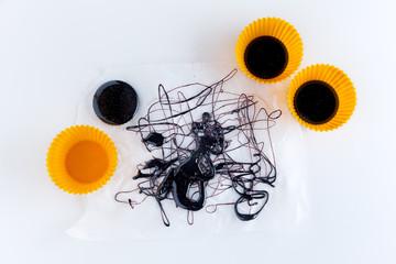 caramel. food abstract