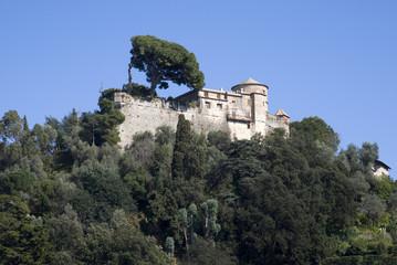 Castle Brown. Portofino, Italy.