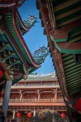 Traditional Chinese Buddhism Building