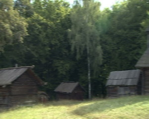 Ukrainian hut