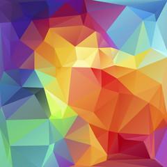 Mosaik Polygon Hintergrund