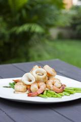 Squid & Shrimp
