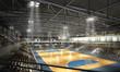 Leinwandbild Motiv Handballhalle