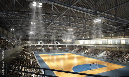 Foto op Canvas Stadion Handballhalle
