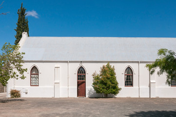 Hall of the Dutch Reformed Church in Laingsburg