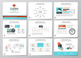 Fototapety Business infographics elements for corporate brochures