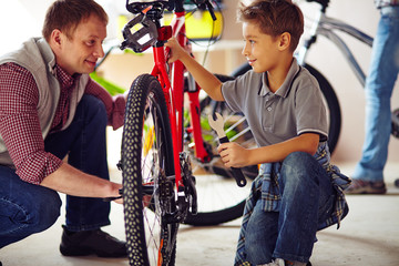 Learning to repair bicycle