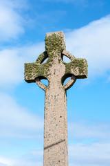 Celtic cross, Iona island, Scotland