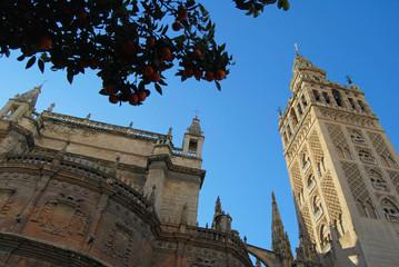 Giralda, Catedral, Sevilla, Andalucía, Arquitectura